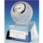 Golf Ball Clock Crystal KK328